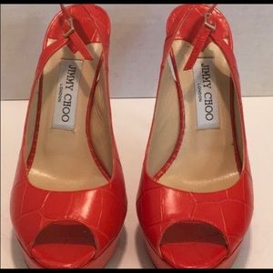 100% AUTHENTIC JIMMY CHOO HEELS//GREAT CONDITION